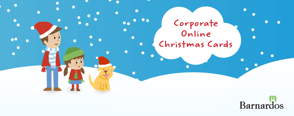 Corporate Online Christmas Cards Banner